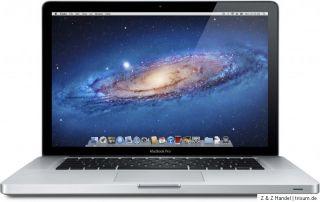 Apple MacBook Pro 39,1 cm (15,4 Zoll) A1286 Laptop   MD103D/A Juni