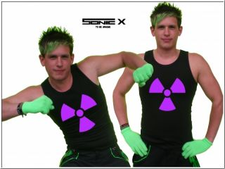 Techno EBM Muscle Shirt Hardstyle Rave Sonic X Techno