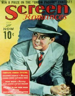 Tyrone Power   Screen Romances Magazine Cover 1930s Masterprint