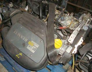 Motor Renault Kangoo Clio 1,9D 40KW MotorkennbuchstabenF8Q662 & Bj.02