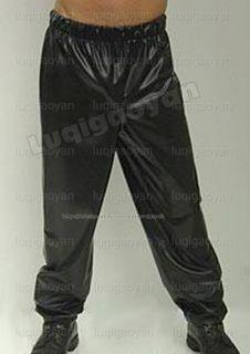 100% Latex Rubber Gummi Pants Hose Stark Jeans 0,8mm Catsuit Ganzanzug