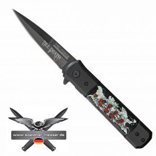 Tac Force  Till Death  Stiletto Messer Taschenmesser Einhandmesser