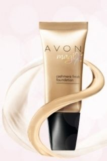 Avon MAGIX Cashmere Finish Make Up Foundation CREAMY NATURAL 30ml