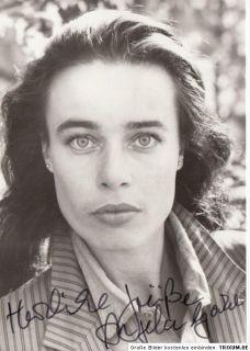 Angela Gockel Rüdel AK 80er Orig. Sign. u.a. Ein Fall für Zwei