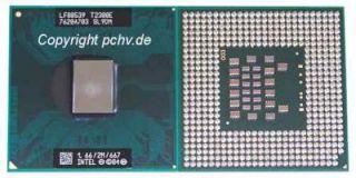 NEU INTEL Core Duo T2300E T 2300E FSB667MHz 1,667GHz SL9DM