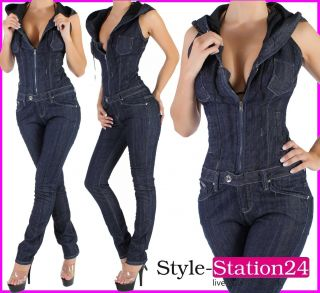 d75 overalljeans overall r hrenjeans damen jeans hose jeansanzug s 36. Black Bedroom Furniture Sets. Home Design Ideas