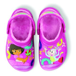 Crocs Kids Lined Mickey Mouse Toystory Dora Cars Scooby Doo Gr. 23 35