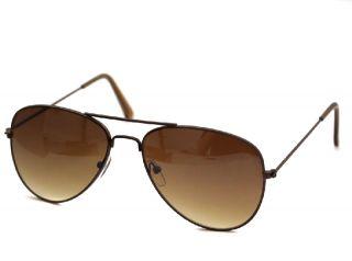 Klassik Pilotenbrille Sonnenbrille 80er Gold USA Designer Brille