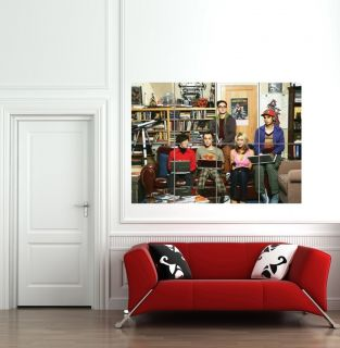 THE BIG BANG THEORY GIANT POSTER PRINT MURAL B621