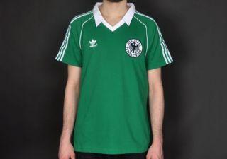 Adidas DFB Retro Longsleeve Tee Grün Weiss Größe S * EM 2012