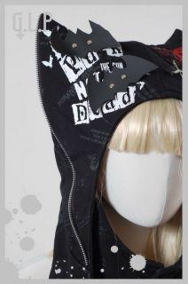 Gothic Lolita Mütze Schalmütze Hut Punk NEU Party Event