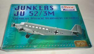 Roco minitanks 683  Junkers Ju 52/3M  OVP M1:87 ungeb.