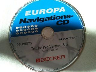 Becker Traffic Pro Autoradio Navigationssystem mit CD