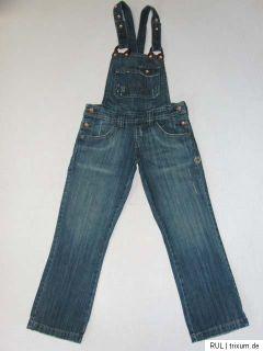 Kenvelo Jeans capri  Latzhose W27 dunkelblau