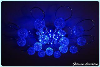 TOP Design DeckenleuchteDandelion 5/10/15 LED Farbwechsel, LM & FB