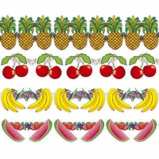 ANANAS DEKO GIRLANDE # Obst Früchte Hawaii Südsee Sommer Strand