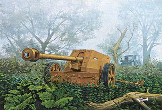 PAK 40, Roden Geschütz Modell Bausatz 1:72, 1070711, Neu, OVP