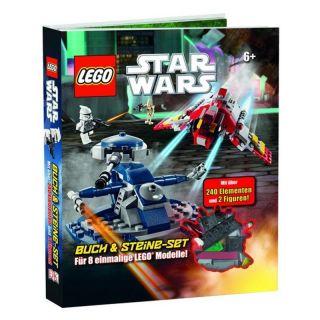LEGO Star Wars Buch & Steine Set für 8 einmalige Modelle *Neu