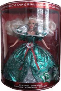 Barbie Happy Holidays   Princess Emeraude *Neu*