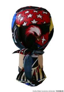 Kopftuch Bandana ADLER ,USA,Eagle,Biker Triker,Skull, Rocker Zandana