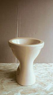 Stand Flachspül WC bahamabeige Flachspüler beige bodenstehend Neu
