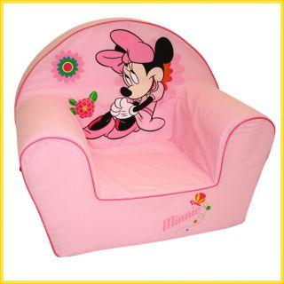 Disney Minnie Mouse Sofa m. Bezug aus Baumwolle / Couch Stuhl Sessel