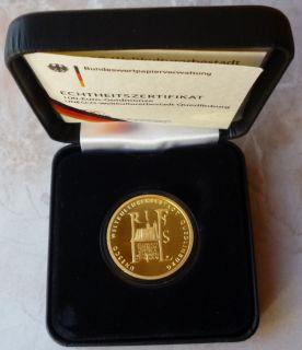 BRD   100 Euro Gold   Münze   Quedlinburg 2003   G