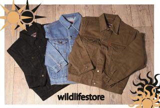 Bill Jeansjacke Jeans Cowboy Jacke Western blau schwarz braun
