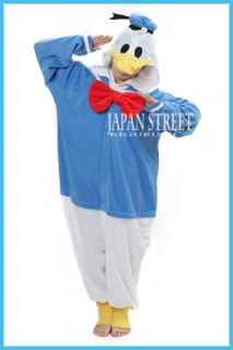 NEW Kigurumi Disney Donald Duck  cosplay costume pajamas Japan