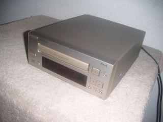 ONKYO C 705X edler mini CD Player Champagner mit 2 optische Ausgaenge
