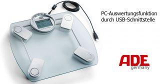 ADE AMELIE KÖRPERFETT WAAGE USB KABEL FÜR PC PERSONENWAAGE