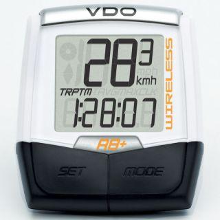 VDO A8 + Wireless Fahrradcomputer MTB Road Bike Kilometerzähler neuen