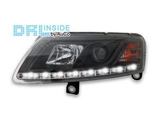 DRL Inside ®LED R87 echte Tagfahrlicht Xenon Scheinwerfer Audi A6 4F