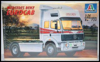 Italeri No 734 Mercedes Benz Eurocab   Truck LKW