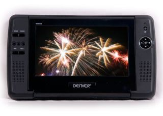 Portable Auto DVD Player 2x Monitor USB AV Ausgang SD