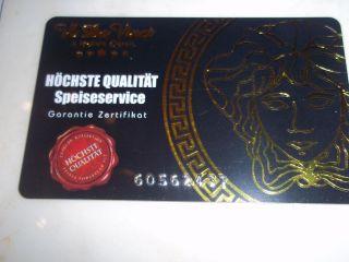 DA VINCI STYLE VERSACE MEDUSA Porzellan Set 57 tlg rot gold LUXUS NEU