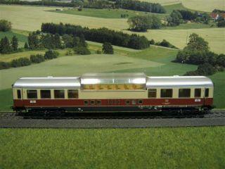Märklin H0 Personenwagen / Aussichtswagen der DB, 1.Kl. / F742