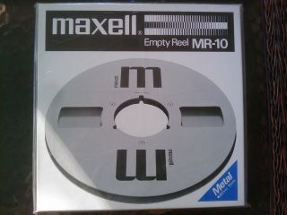 Maxell MR 10 Empty Reel   10.5 267mm   Factory Sealed   NEW