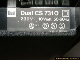 Plattenspieler DUAL CS 731 Q