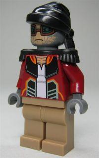 LEGO Star Wars Figur Hondo Ohnaka (Weequay Pirat) aus 7753 mit Blaster