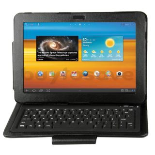 Bluetooth Wireless Tastatur Keyboard Schutz Samsung Galaxy Tab 10.1