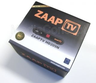 ZAAPTV IPTV Receiver HD209N ZAAP TV + HDMI Cable   Arabic, Greek