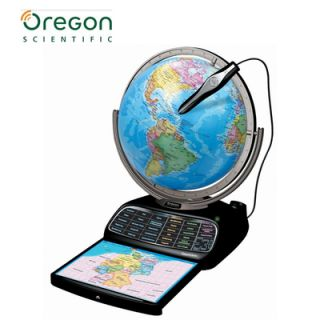 OREGON SCIENTIFIC Smart Globe Interaktiver Lern Globus + SmartPen NEU
