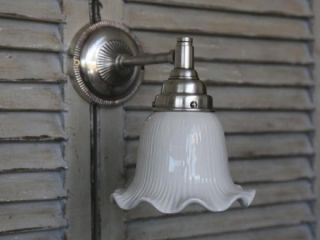 Chic Antique Wandlampe white/silber, Lampe, Shabby Chic, Nostalgie