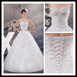 2013 Neueste Style Wedding Dress/Brautkleid/dress Lager Größe: 34*36