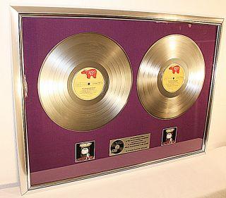 Bee Gees, Saturday Night Fever, platin Schallplatte, goldene