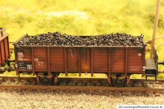 MÄRKLIN H0 offener Güterwagen Om 12 Echtkohle KKK gealtert Top