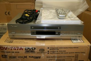 Pioneer High End SACD / DVD Player DV 747A NEU OVP Auslaufmodell