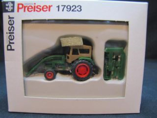 Preiser 17923 Deutz D 6206 Ackerschleppe NEU&OVP H4 748