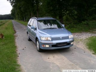 Mitsubishi Space Wagon N50 Stoßstange hinten hellblau met
